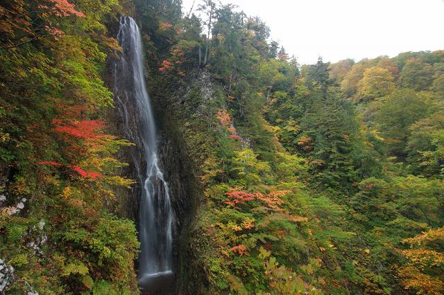 秋田の滝めぐり3 茶釜の滝へ
